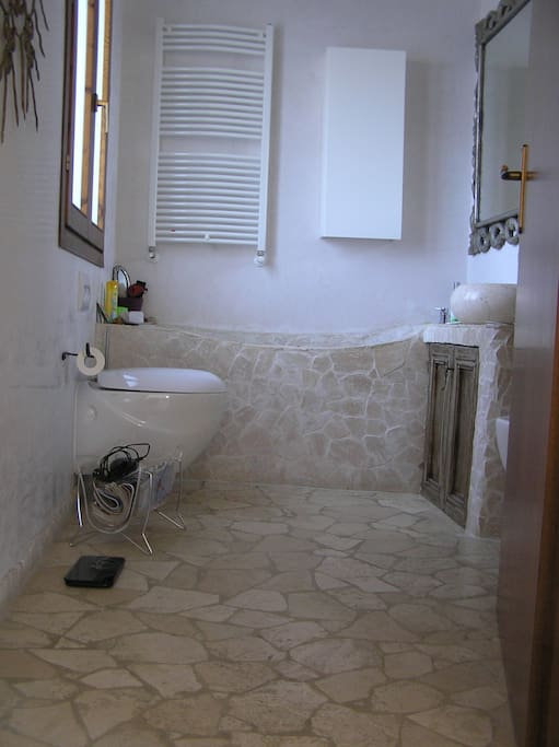 le finiture del bagno