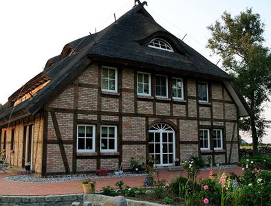 Ferienhaus auf dem Gelände der Gutsscheune - Rappin