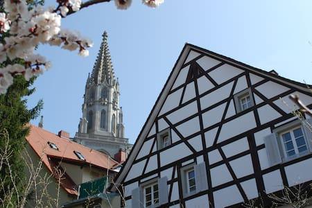 Zi. 1: Fachwerkhaus am Münsterplatz, 5 Min zum See - คอนสแตนซ์ - บ้าน