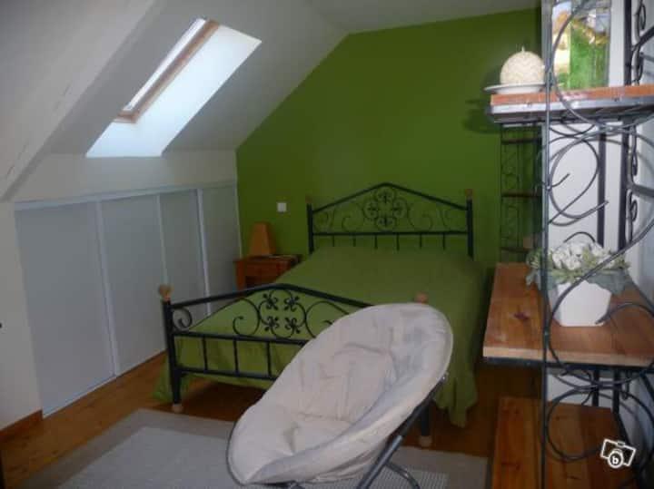 Maison Fleurie, chambre Verte