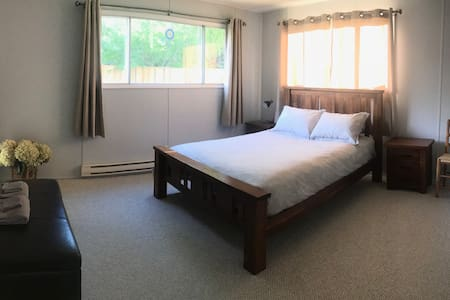 Spacious 2 bedroom suite on private lot