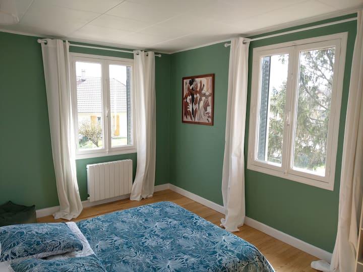 Magnifique appartement en maison de campagne