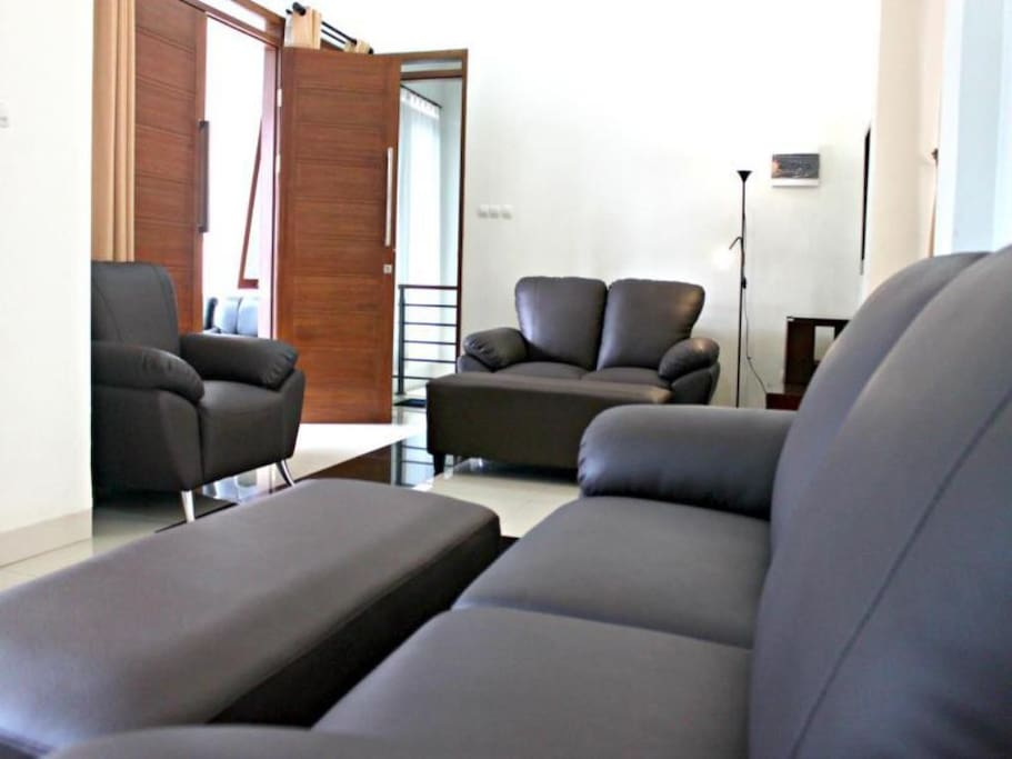 ruang keluarga di lantai 2