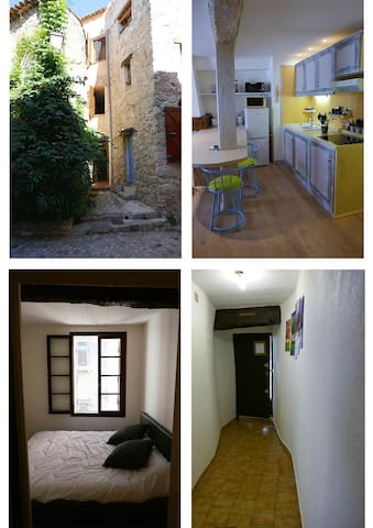 APPARTEMENT BARGEMON TYPIQUE PROVENCE