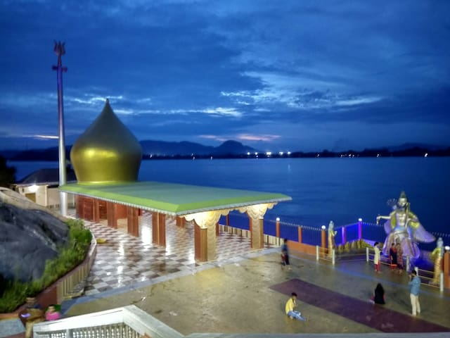 Temple Experience in Guwahati on the banks of River Brahmaputra.