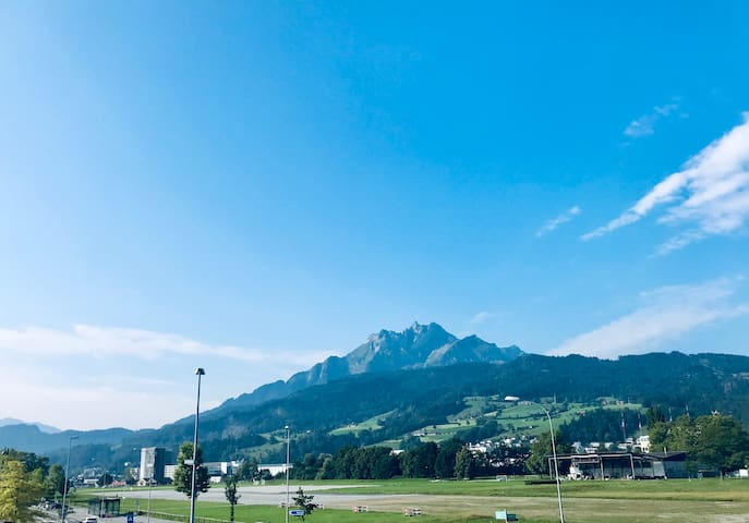 shared apartment at the common land of Lucerne 3