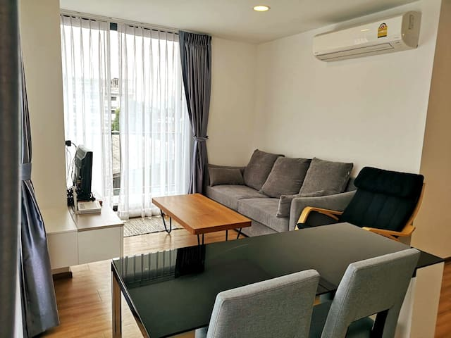 ❤ Homey stay ❤ 1 Bed room Suite near Asiatique