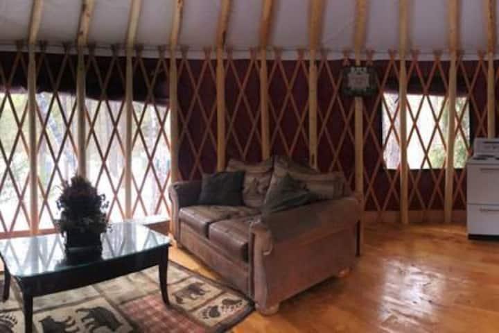 Yurtsville Retreat- Blue Yurt
