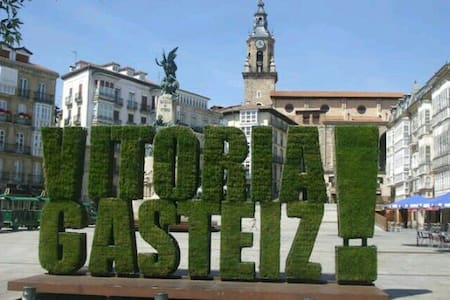 DESCUBRE PORQUE VITORIA ES GREEN CAPITAL DE EUROPA - Vitoria-Gasteiz - Apartament