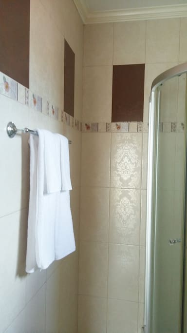 spacious master bedroom private bathroom you can share. With hot water for hot bath