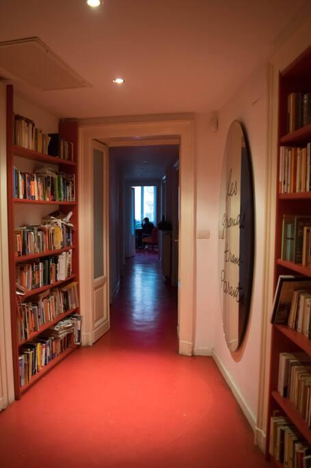 The entrance corridor
