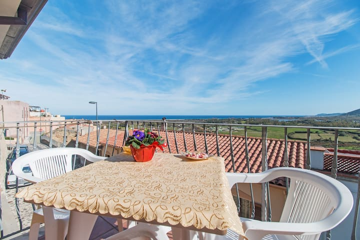 Appartamento Centro Storico vista mare - Posada - Byt