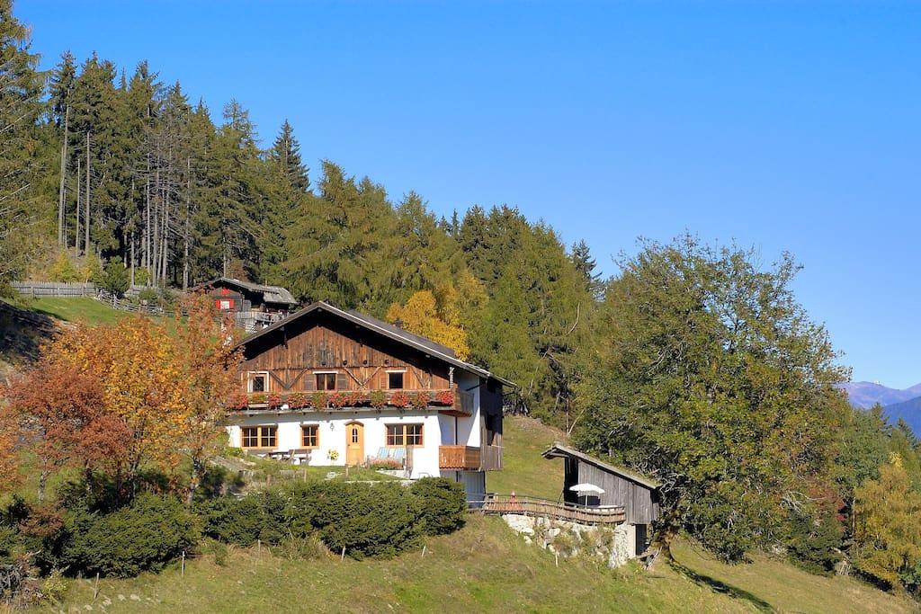 Ferienwohnung masitterhof appartamenti in affitto a for Affitto bressanone