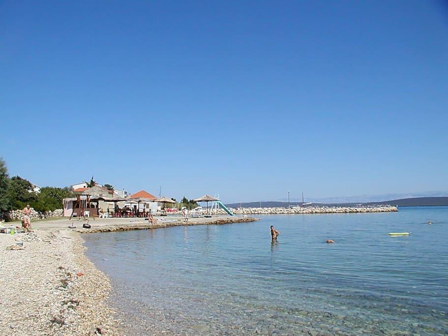 Nice and big sandy domestic beach