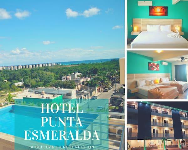 HOTEL PUNTA ESMERALDA. Bicicleta a la playa