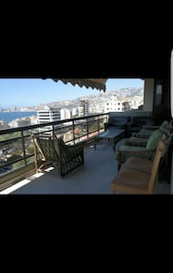 Beautiful Apartment overlooking Jounieh bay - حارة صخر - Pis