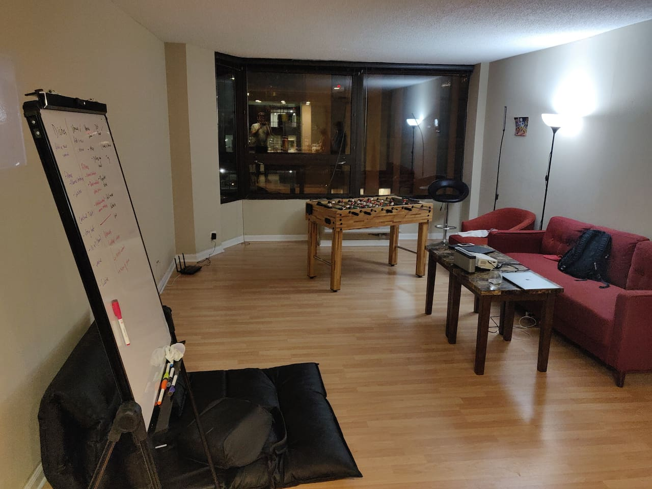 Private room in 2 BHK on Michigan Ave (Common Area)