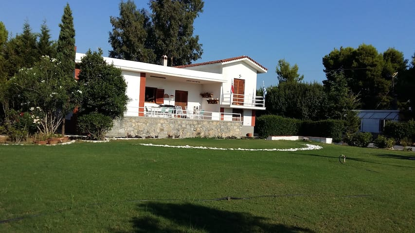 VILLA BY THE SEA IN PARALIA AVLIDOS - Paralia Avlidos - Villa