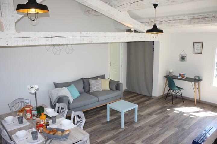 Gîte 6 pers moderne avec possibilité de massages - Seillans - Apartment