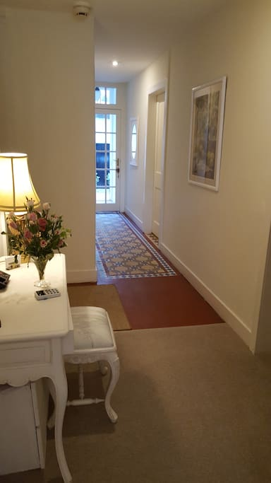 Separate Entrance Hall Way Garden Level