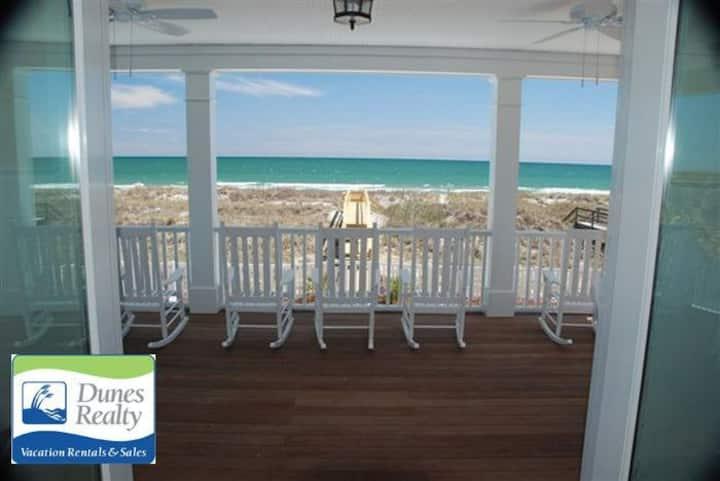 Ocean Front Beach Home