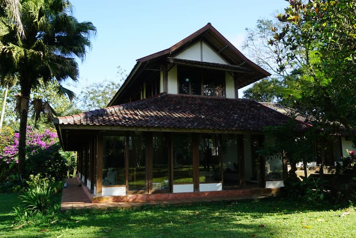 Three bedroom house on the ft of Batukaru mountain