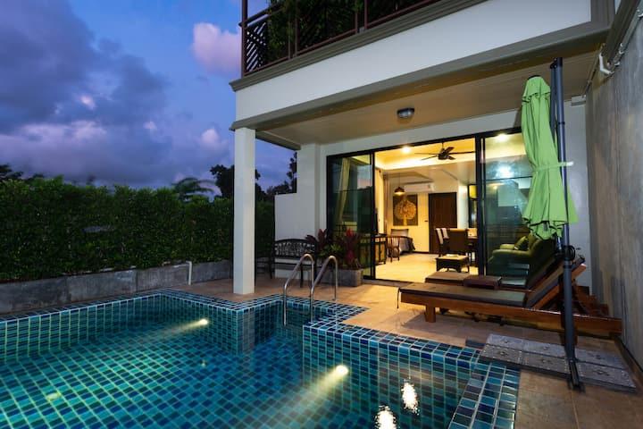 2 story pool villa @ Naiharn Phuket