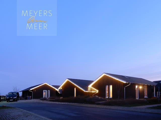Holzferienhaus mit Sauna, 500m zum Ostsee-Strand 5