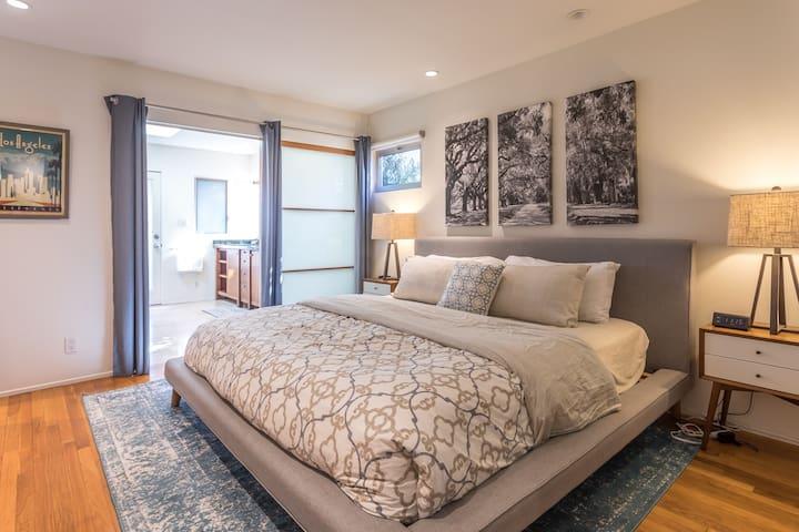 Master bedroom (main home)