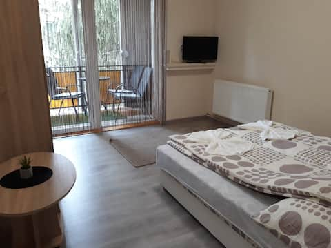 Családbarát, mediterrán hangulatú, kedves lakás