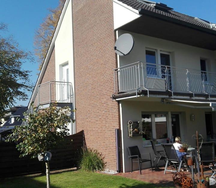 Ferienwohnung an dem Emsradweg in Rheine