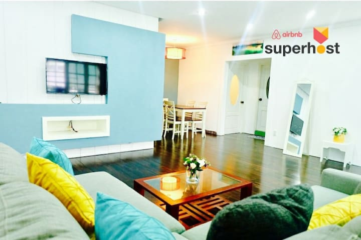 ☆Ana's 2BR Tranquil Apt w Kitchen in Central HCMC