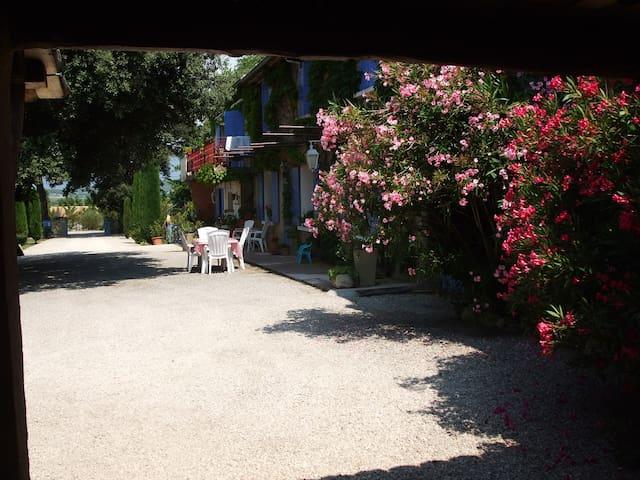 La maison de Nazig et vu sur cour