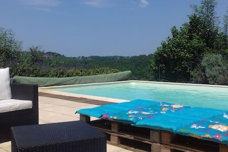 """"""" Les 4 saisons"""" maison entière , piscine privée"""