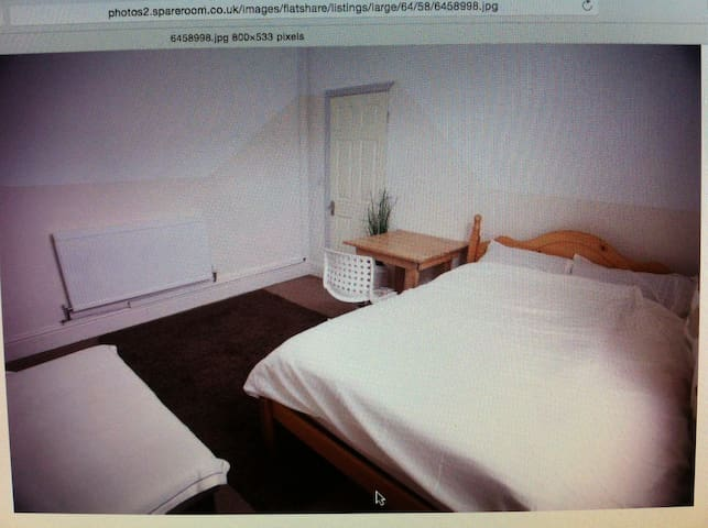 Very Large room with double bed - Wigan - Rumah