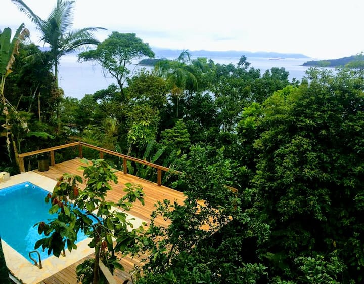 Tropical Atlantic Forest Villa, Nature and Ocean!