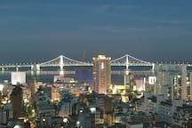 격이다른 옥상 오션/광안대교 뷰!! You can see the whole gwangan bridge(which is famous of a firework) on the roof top