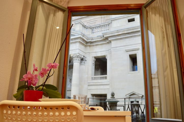 Cute apartment in front of the CATHEDRAL - Pamplona - Appartement