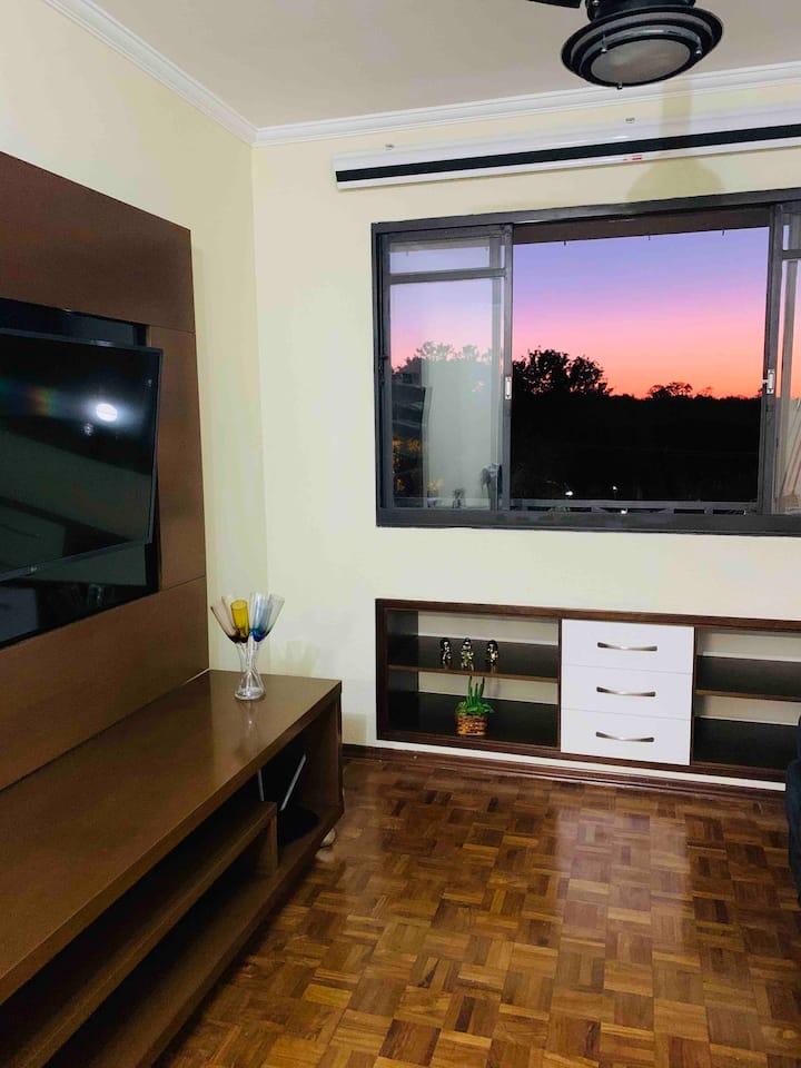 Apartamento 1 suíte e 1 quarto São Carlos!