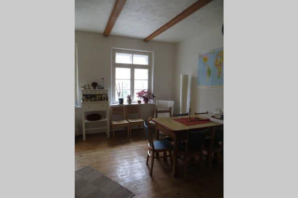Unser stilvolles und lebendiges Wohnzimmer