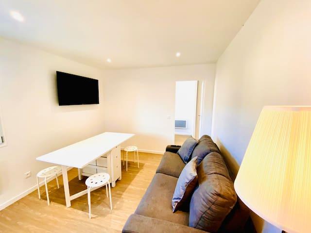 Appartement 1, neuf et contemporain