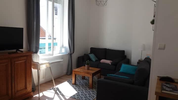 Wimereux : Appart. 2 chambres à 200 m de la plage
