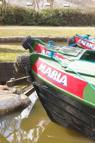 Narrowboat 'Maria' - Stone - Båt