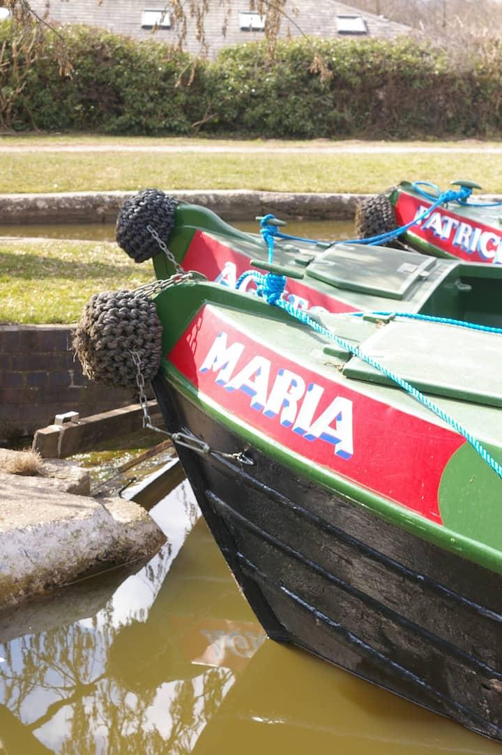 Narrowboat 'Maria'