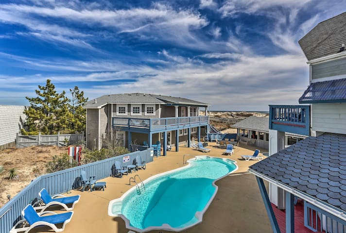 NEW! 'Sunnybank' - Oceanfront 3-Acre OBX Estate!