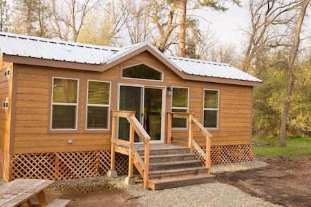 Brand New Yosemite Wood Cabin 4 - Cabane