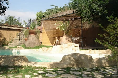 Beautiful B&B with Pool - Nola - Oda + Kahvaltı