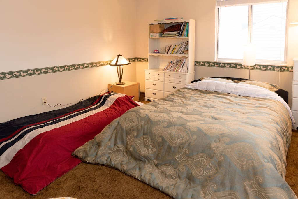 1 twin bed