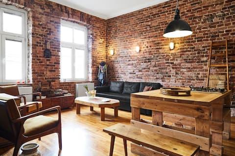Loft apartment/Industrial design