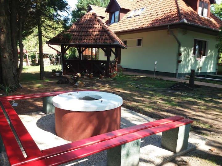 Vidéki nyugalom a Bodzavirág Vendégházban